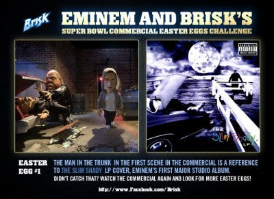 "EMINEM X BRISK ""THE OUTTAKES"""