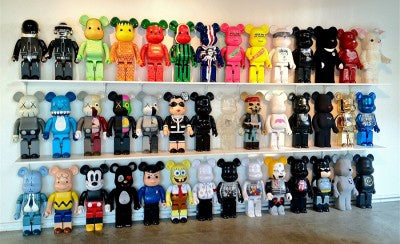 1000% Be@rbrick exhibition at Guy Hepner gallery