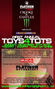 PLATINUM MOTORSPORT 1ST ANNUAL TOY 4 TOTS CHARITY!