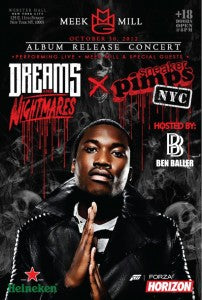 SNEAKERPIMPS NEW YORK! MEEK MILL
