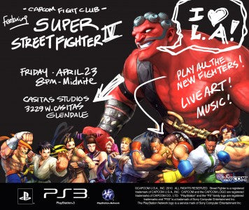SUPER STREET FIGHTER IV FIGHT CLUB! COME JOIN ME/US 2MORO!