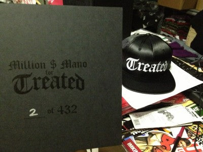 TREATED CULT #TREATEDCREW TREATED CROWN