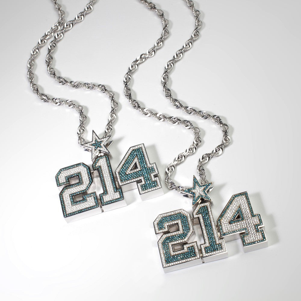 214 dallas cowboys chains for ezekiel elliott dak prescott aloadofball