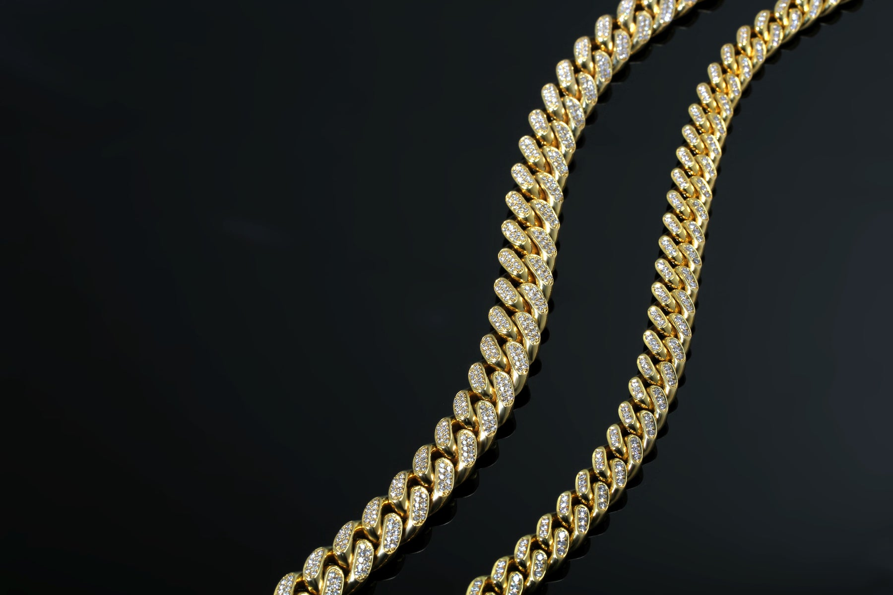 products necklace chain link gold bijouterie ifandco gonin vvs diamond choker tennis