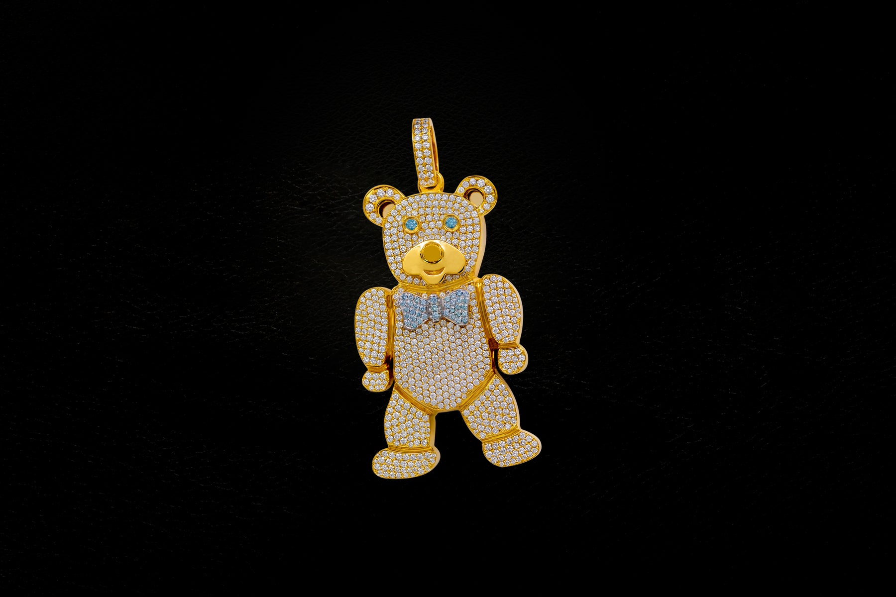 Pendants gold chain with pendant discover if co bear aloadofball Choice Image