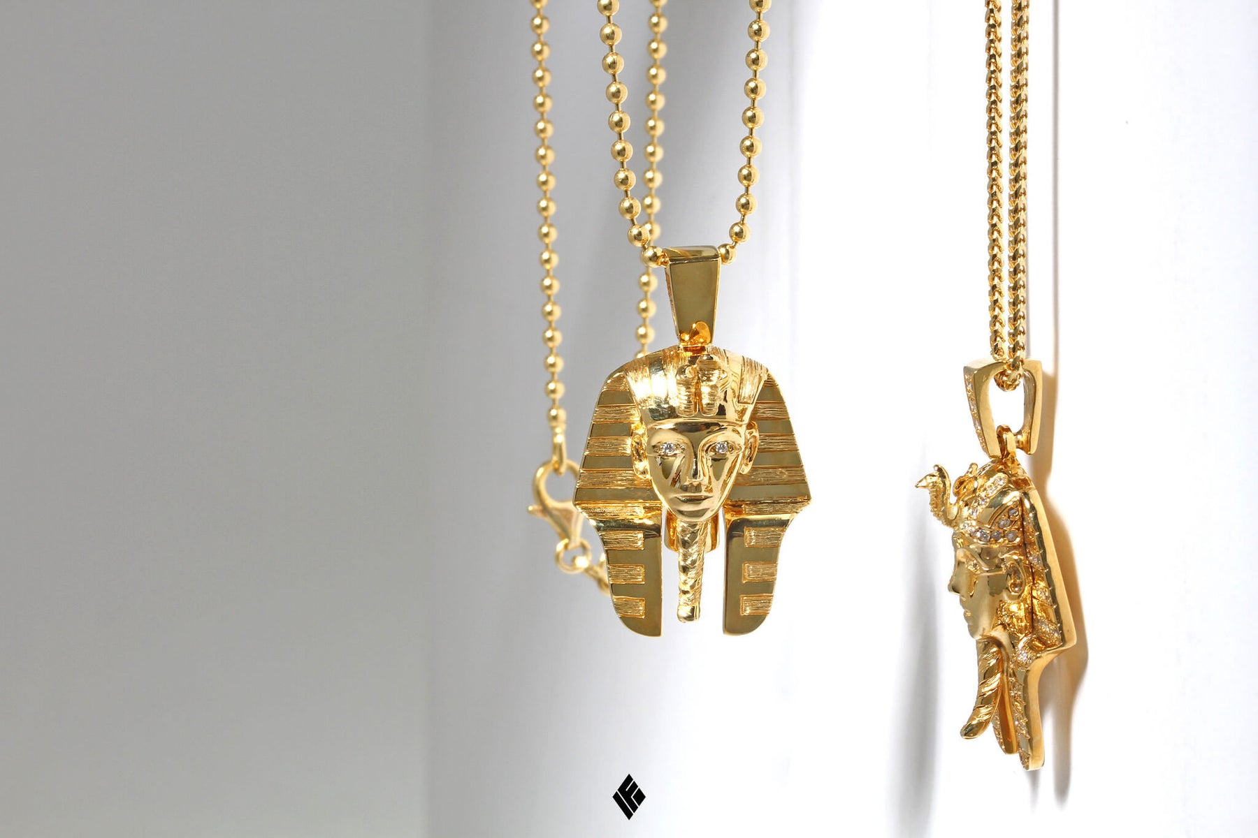Pendants gold chain with pendant discover if co pharaoh mozeypictures Images