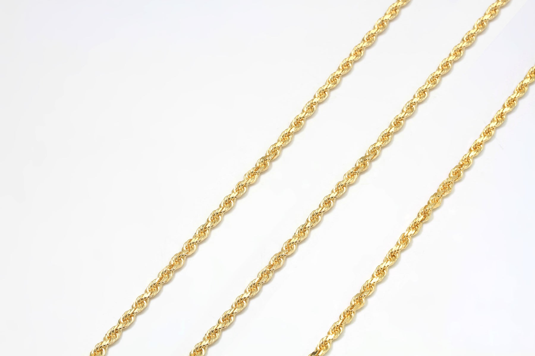 chains chain ladies rope yellow inch necklace newburysonline grams ml gold