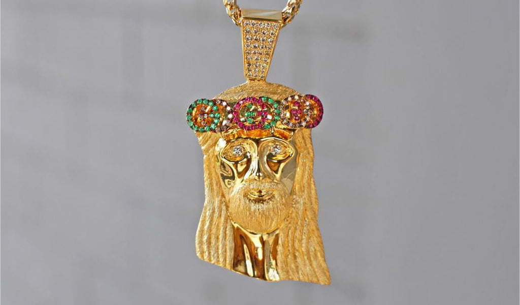 Custom jewelry diamond pendants and grillz in los angeles if co jesus pieces and pendants aloadofball Image collections