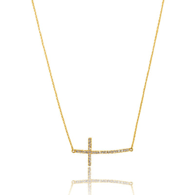 Baby Ally Necklace - Yellow Gold Pendants - IF & Co.
