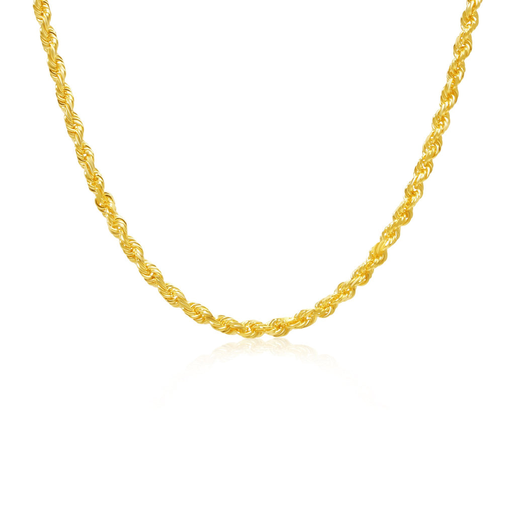 Gold Rope Chain (4.0mm) - Chains - IF & Co. Custom Jewelry