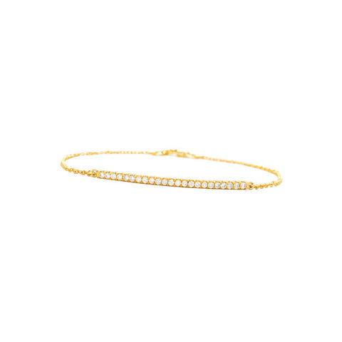 Elle Yellow Gold Bracelet