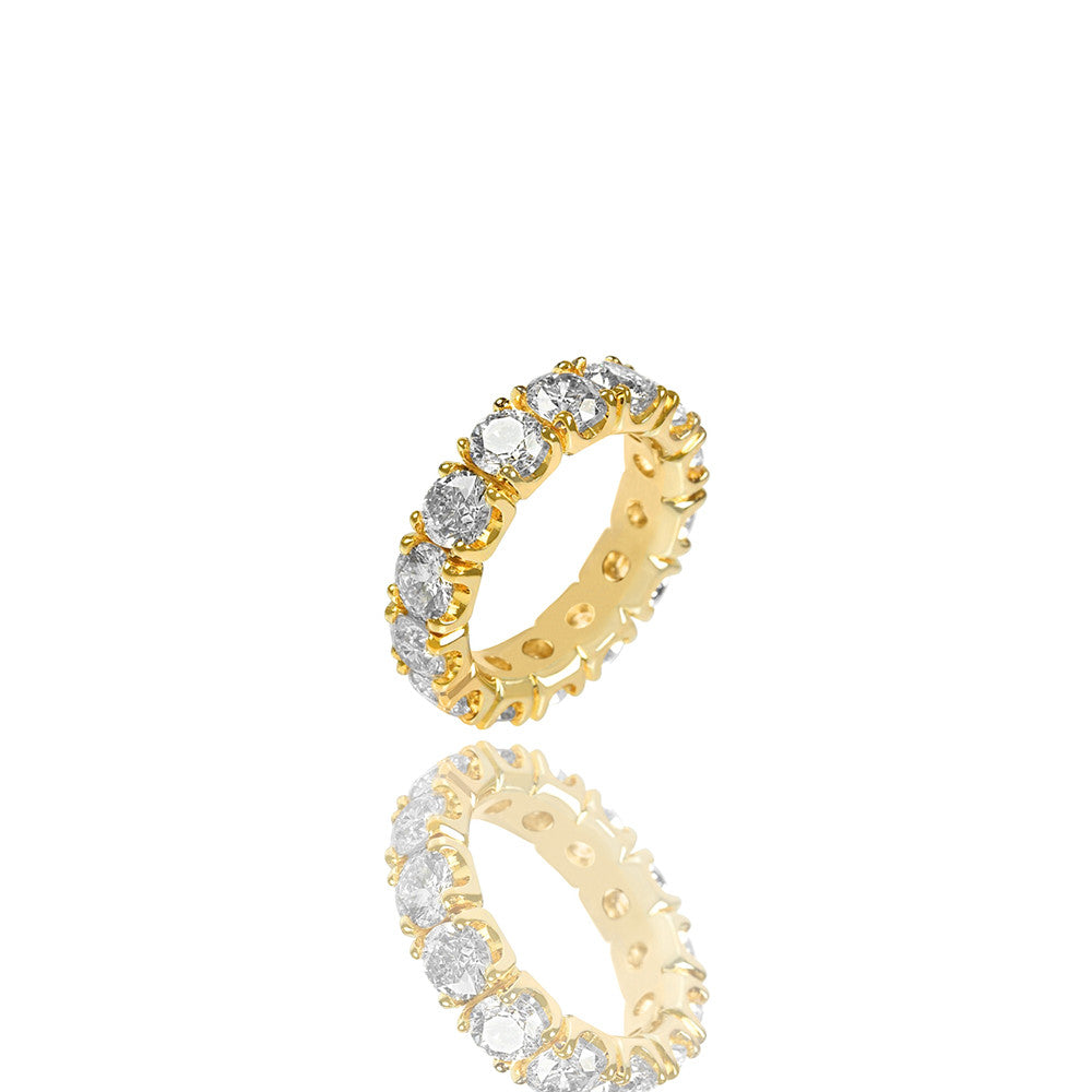 Yves Eternity Ring - Rings - IF & Co. Custom Jewelry