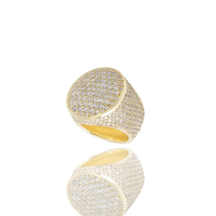 Diamond Otis Ring Yellow Gold Ifandco
