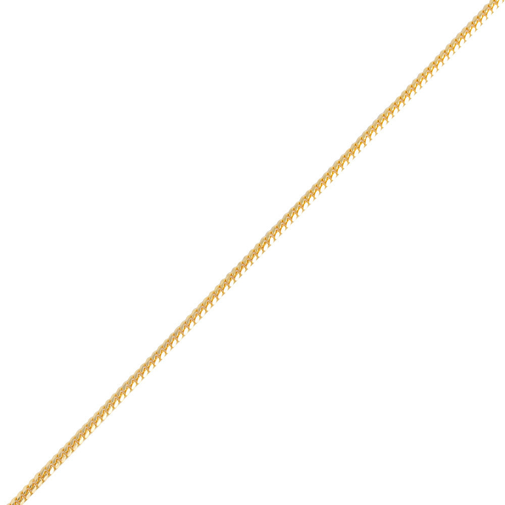 Gold Cuban Link Chain (3.2mm) - Chains - IF & Co. Custom Jewelry
