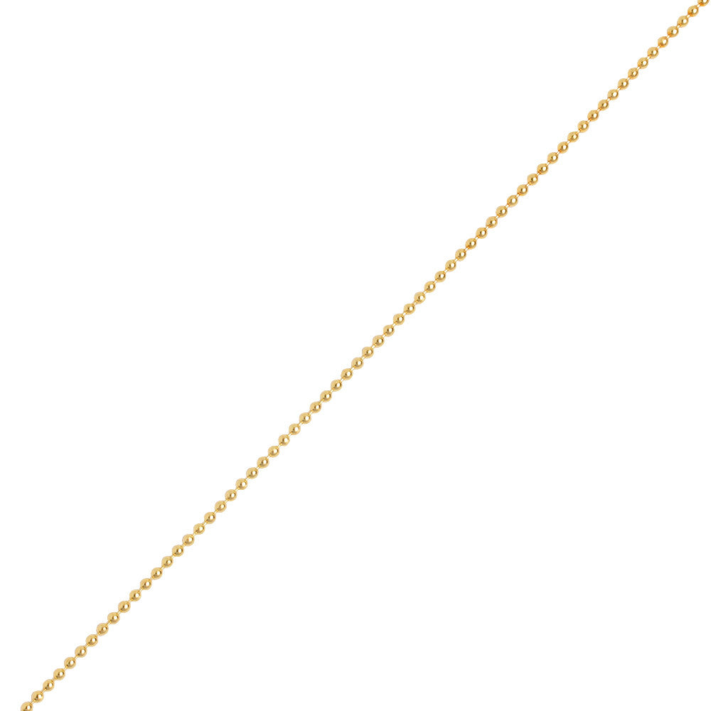 Ball Chain Yellow Gold Ifandco