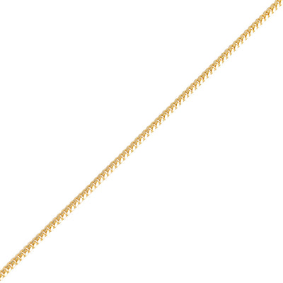 Gold Cuban Link Chain (4mm) - Chains - IF & Co.