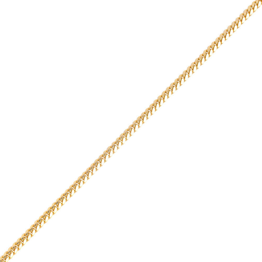 Gold Cuban Link Chain (5mm) - Chains - IF & Co.