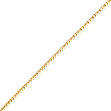 Gold Cuban Link Chain (5mm) - Chains - IF & Co. Custom Jewelry