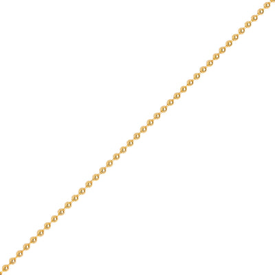 Gold Ball Chain (2.0mm) - Chains - IF & Co. Custom Jewelry