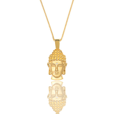 Micro Buddha Piece (Diamond Urna) - Pendants - IF & Co. Custom Jewelry