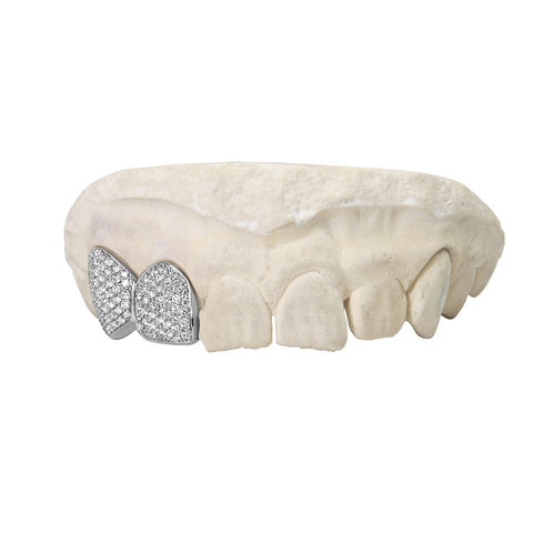 diamond teeth cap Fully Iced