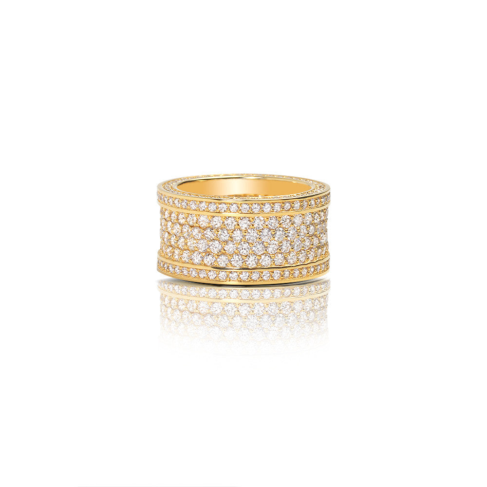 Massimo Eternity Ring (4-Row) - Rings - IF & Co.