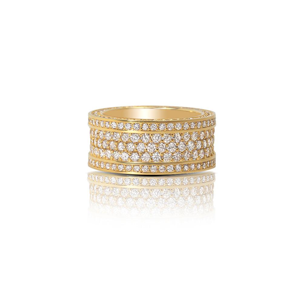 Massimo Eternity Ring (3-Row) - Rings - IF & Co.