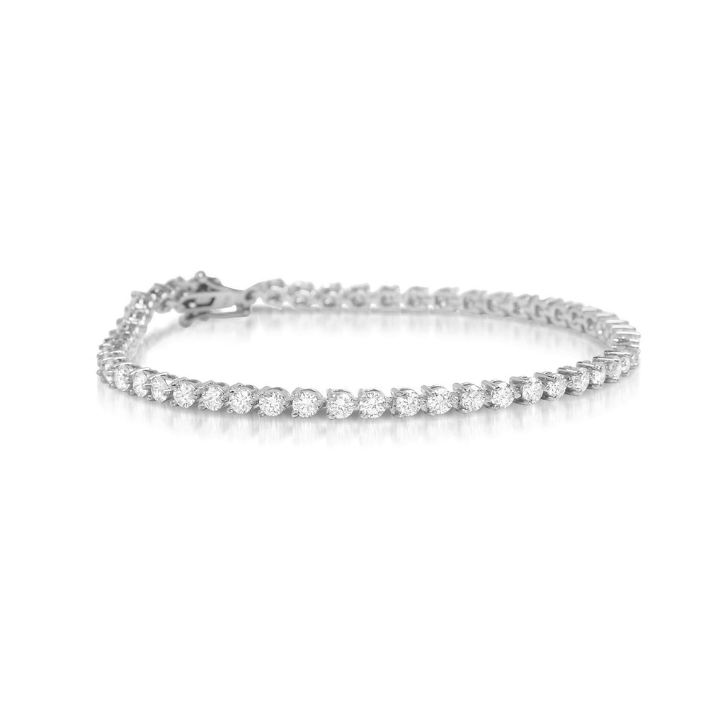 diamond gemone and diamonds bracelet white tennis unique from make offer sale black product
