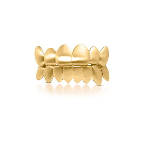 Gold Grills Ifandco Satin Finished