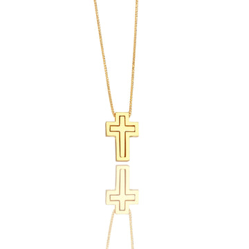 Micro Lindsay Cross - Pendants - IF & Co. Custom Jewelry