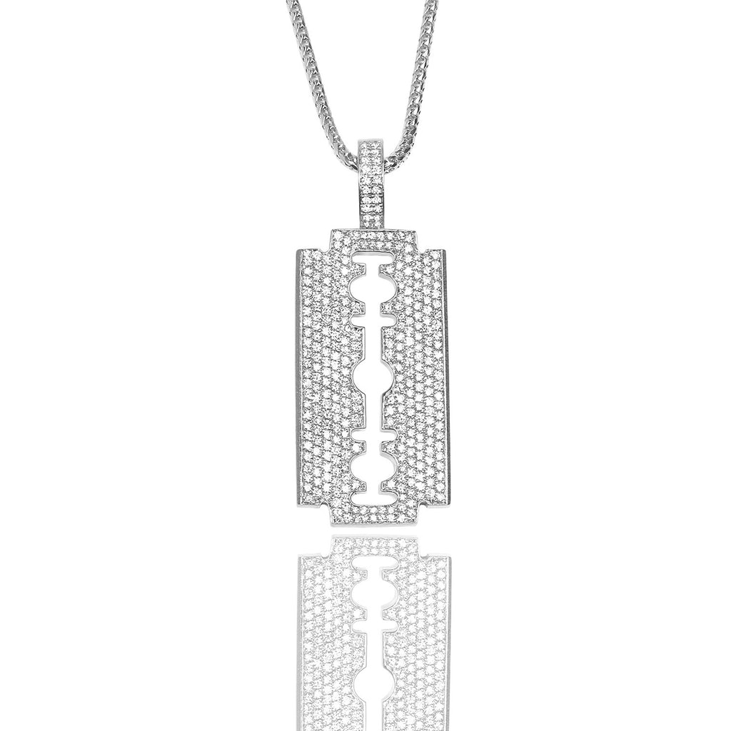 Baby Razor Necklace (Diamond) - Pendants - IF & Co.