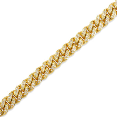 Diamond Cuban Link Chain (11mm) - Cuban Link Chains - IF & Co.