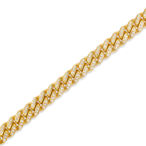 Fully Iced Cuban Link Chain (11mm, Oversized)