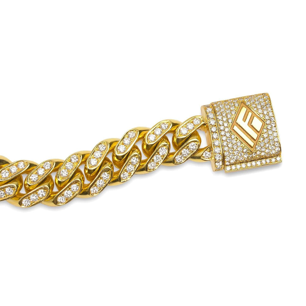Diamond Cuban Link Chain (11mm, Oversized) - Chains - IF & Co.