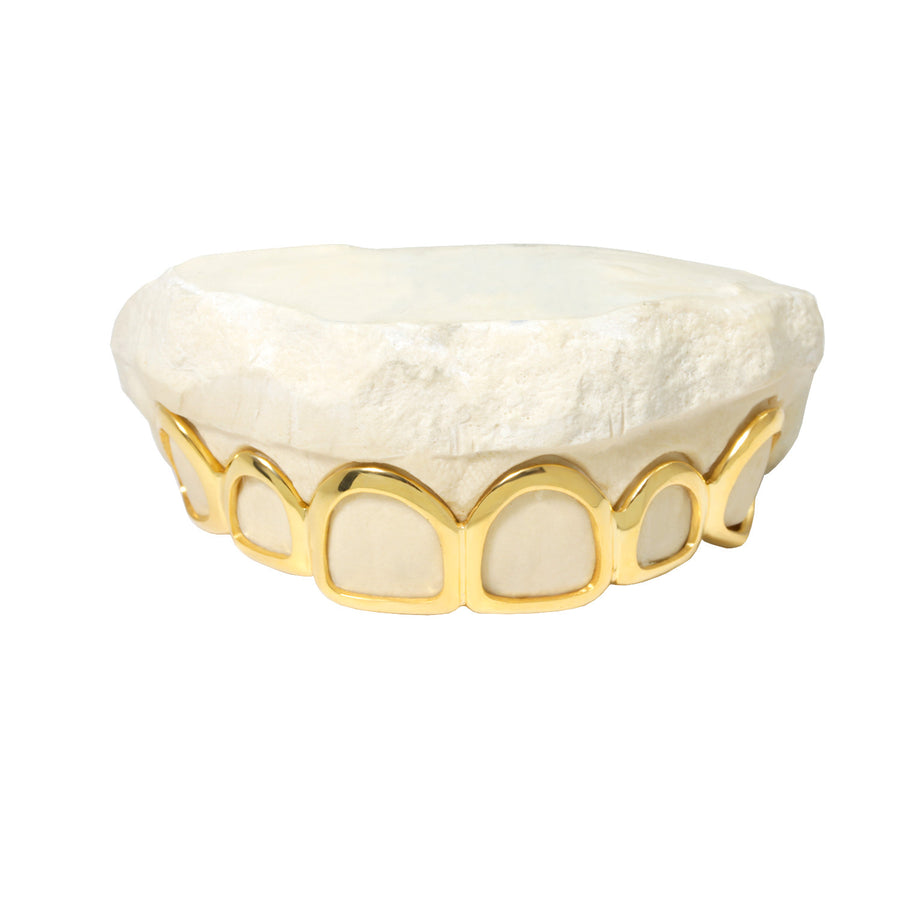 Open Face Gold Grill - Grills - IF & Co. Custom Jewelry