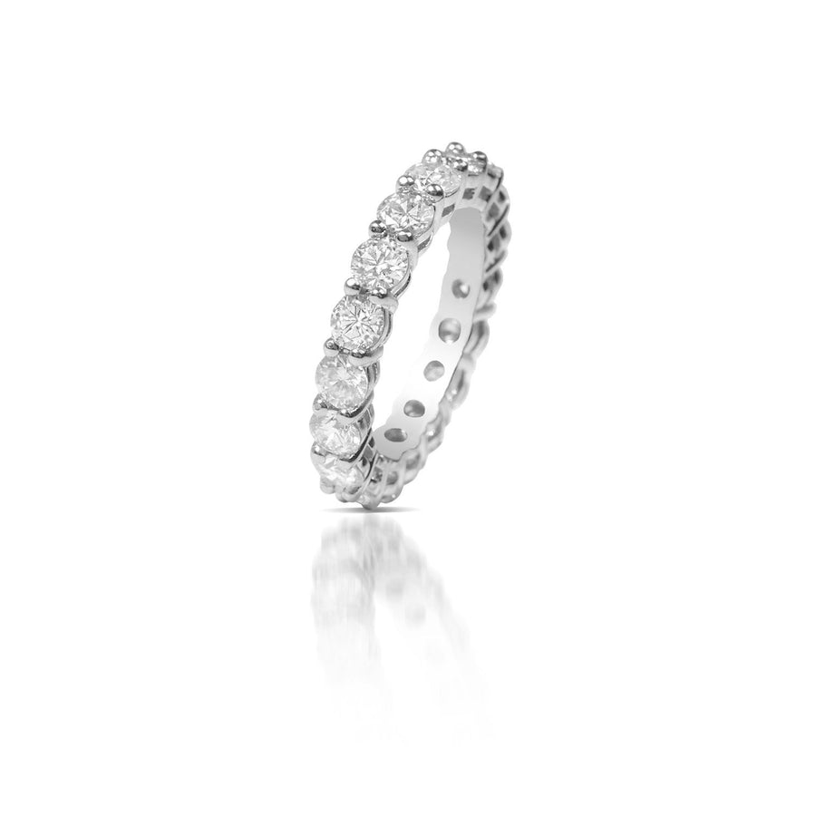 Baby Luna Eternity Ring - Rings - IF & Co. Custom Jewelry