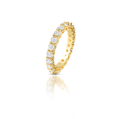 Milli Luna Eternity Ring - Rings - IF & Co. Custom Jewelry