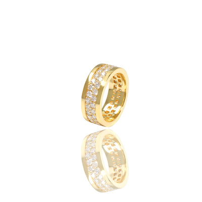 Lenox Eternity Ring (2-Row)