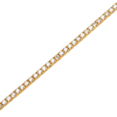 Vincent Diamond Tennis Bracelet (10-Point)