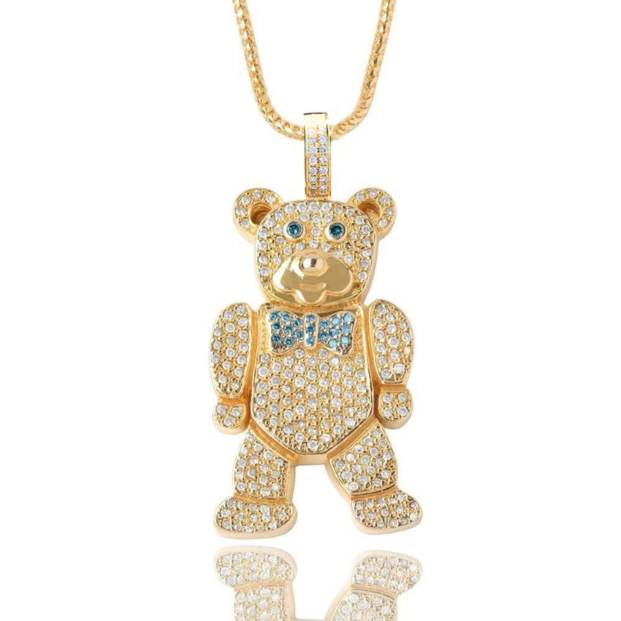 Mid-Sized Bear Piece (1997) - Pendants - IF & Co. Custom Jewelry