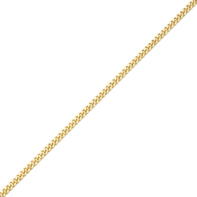 Gold Cuban Link Chain (2mm) - Chains - IF & Co. Custom Jewelry