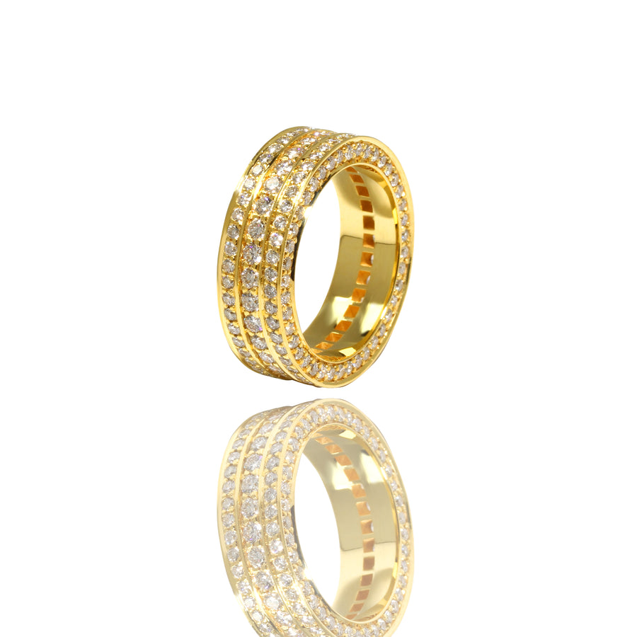 Massimo Eternity Ring (1-Row) - Rings - IF & Co. Custom Jewelry