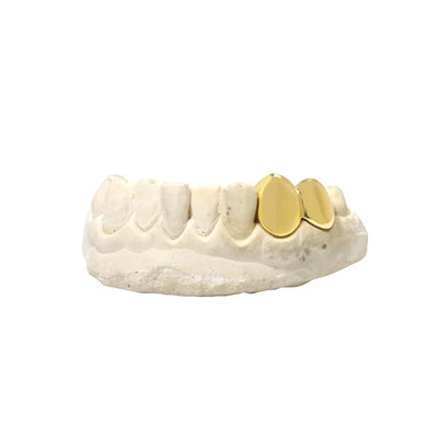 Gold Grill Cap (Double)