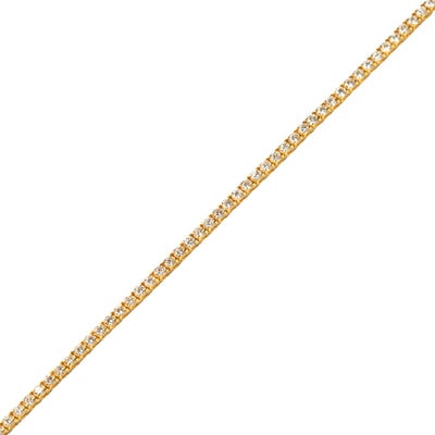 Vincent Diamond Tennis Bracelet (Nano, 3-Point)