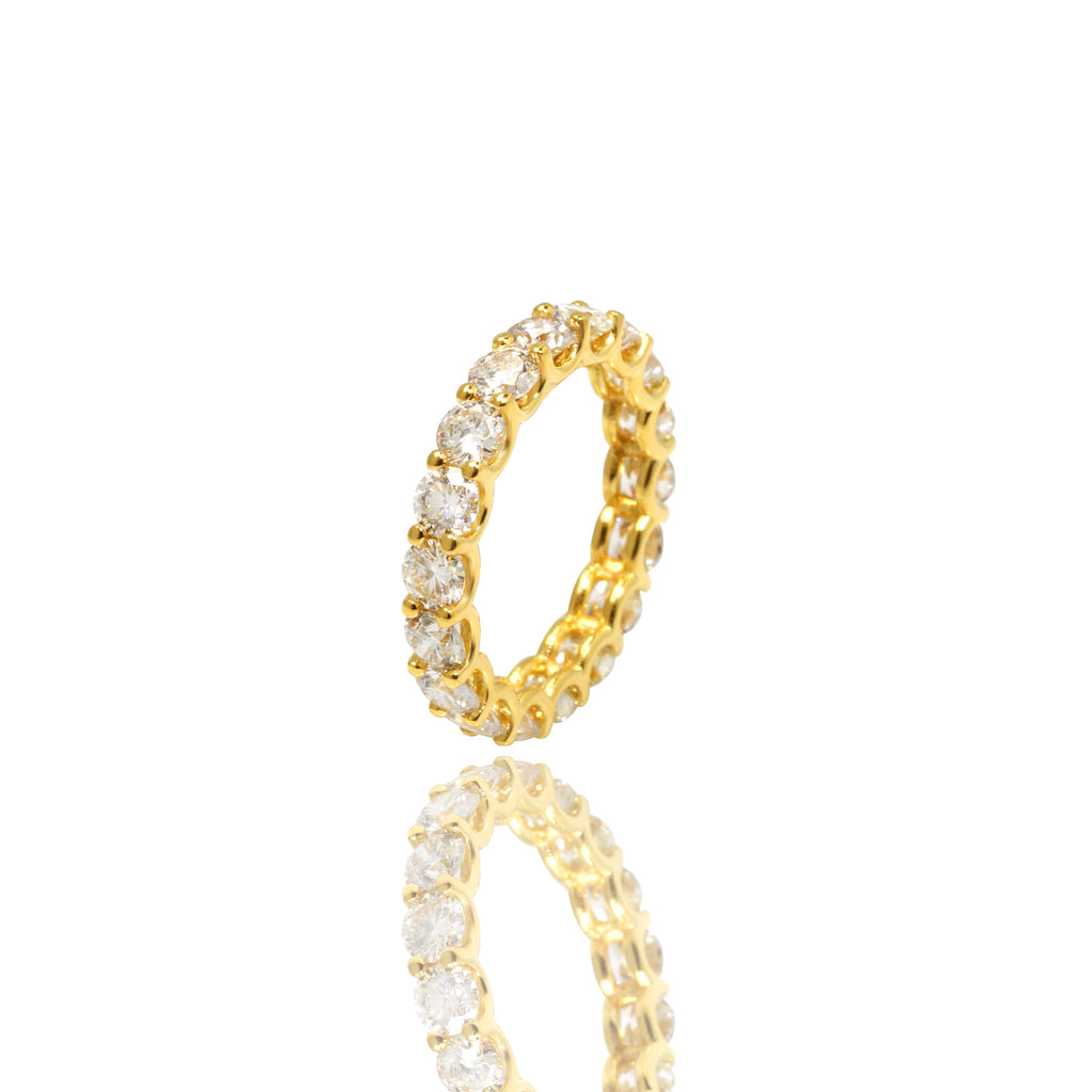 Céleste Eternity Ring - Rings - IF & Co. Custom Jewelry