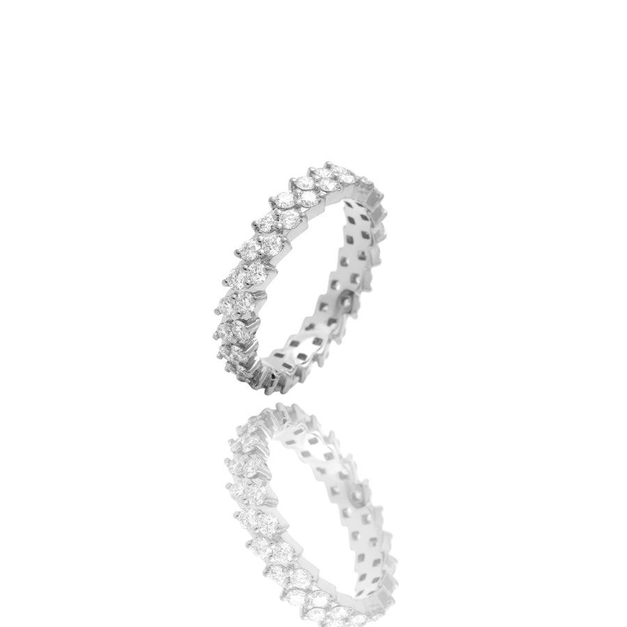 Nano Enzo Eternity Ring - Rings - IF & Co. Custom Jewelry
