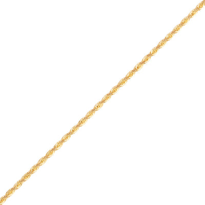Gold Rope Chain (2mm) - Chains - IF & Co.