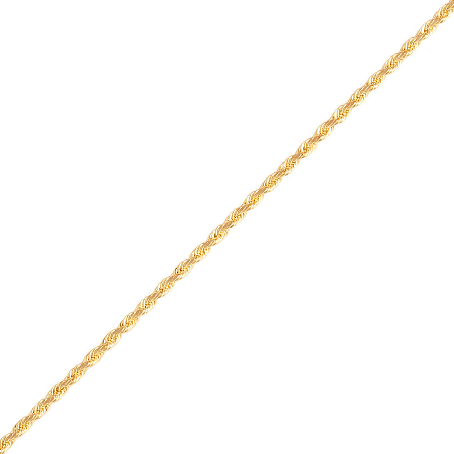 Gold Rope Chain (2.0mm) - Chains - IF & Co. Custom Jewelry