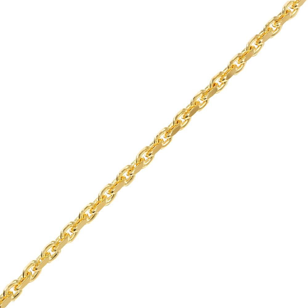 Gold Odin Link Chain (3mm) - Chains - IF & Co. Custom Jewelry