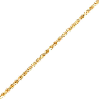 Gold Rope Chain (3.0mm) - Chains - IF & Co. Custom Jewelry